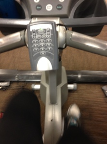 The dreaded indoor bike